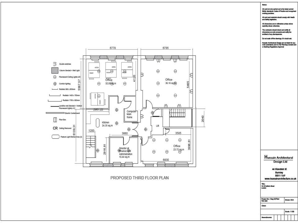 Hussain Architectural Design Planning Permission London